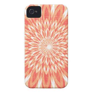 REGALOS del ARTE del girasol del encanto CHAKRA Case-Mate iPhone 4 Carcasa