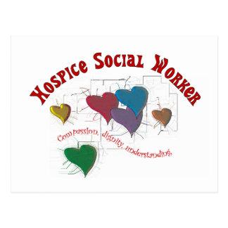 Regalos del asistente social del hospicio postal