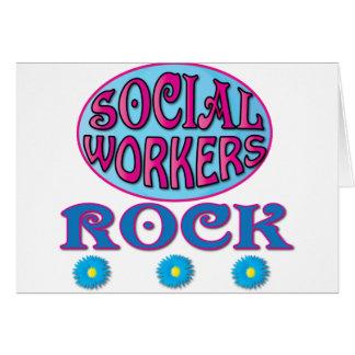 Regalos del asistente social felicitaciones