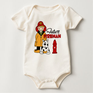 Regalos del bombero body para bebé