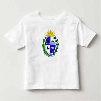 Regalos del futbol del fútbol de Uruguay del Camiseta De Bebé