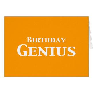 Regalos del genio del cumpleaños felicitaciones