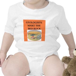 Regalos del geólogo de la GEOLOGÍA Trajes De Bebé