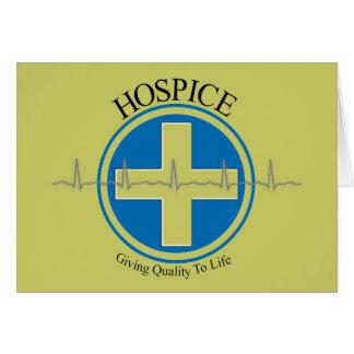 Regalos del hospicio tarjeta de felicitación