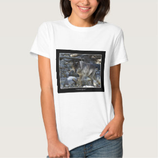 Regalos del lobo de la búsqueda de Vision Camiseta