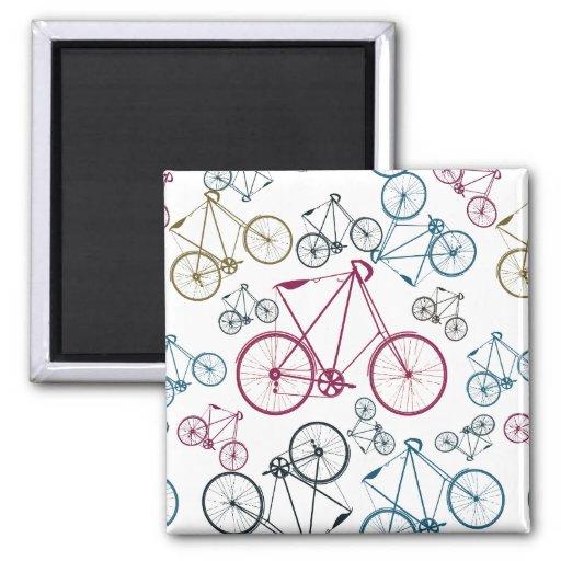 Regalos del modelo de la bicicleta del vintage par imán para frigorifico
