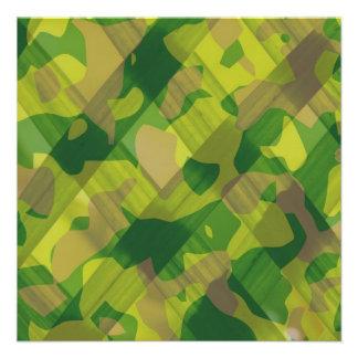 Regalos del modelo del camuflaje de las hojas de C Anuncio