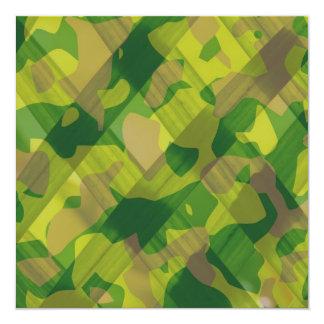 Regalos del modelo del camuflaje de las hojas de anuncio
