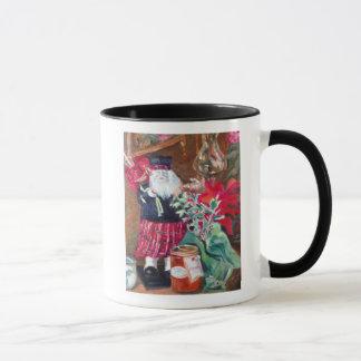 Regalos del navidad pasado y presente taza