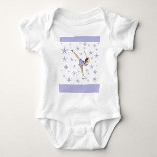 Regalos del patinaje artístico body para bebé