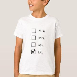 Regalos del PhD para las mujeres Camiseta