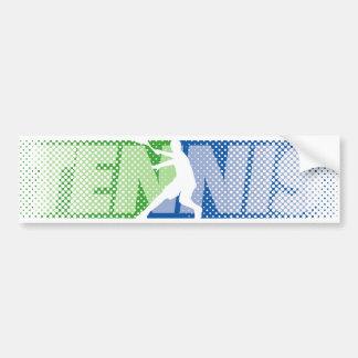Regalos del tenis para los jugadores y la pegatina
