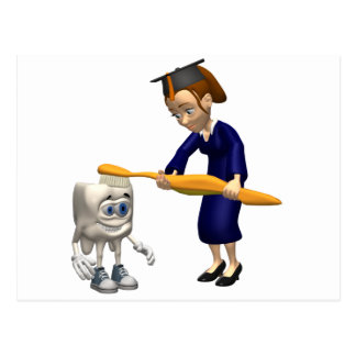 Regalos dentales de la graduación de la higiene o  postales