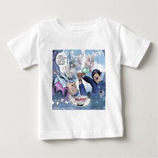 Regalos divertidos de Rick Londres de las líneas Camiseta De Bebé