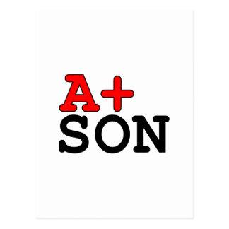 Regalos divertidos para los hijos: A+ Hijo Postal