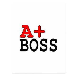 Regalos divertidos para los jefes: A+ Boss Postal