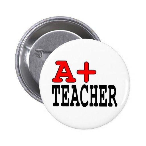 Regalos divertidos para los profesores: A+ Profeso Pin