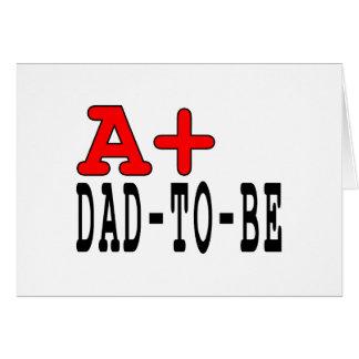 Regalos divertidos para que papás sean: A+ Papá a Tarjeta Pequeña