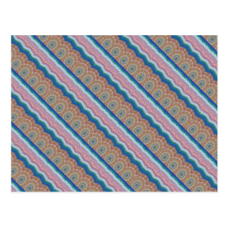 REGALOS elegantes de la tira azul de la CHISPA de Postal