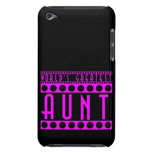 Regalos elegantes elegantes para la tía más grande iPod Case-Mate carcasa