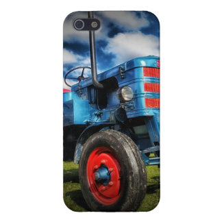 Regalos frescos del tractor de la antigüedad del r iPhone 5 protector