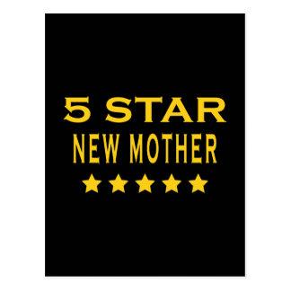 Regalos frescos divertidos: Nueva madre de cinco Postal