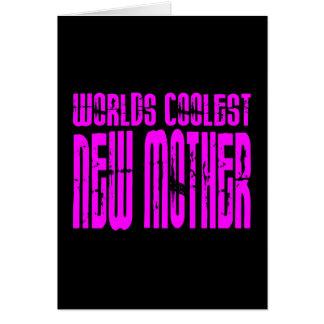 Regalos frescos para las nuevas mamáes Nueva madr Tarjetas