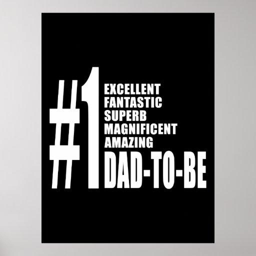 Regalos frescos para los papás futuros: Papá del n Posters