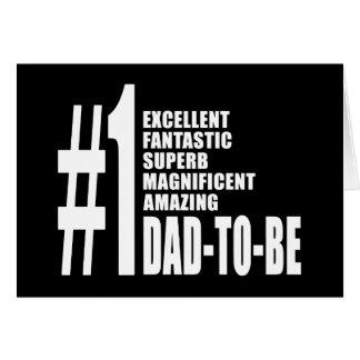 Regalos frescos para los papás futuros: Papá del n Tarjeta Pequeña