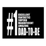 Regalos frescos para los papás futuros: Papá del n Tarjeta Postal