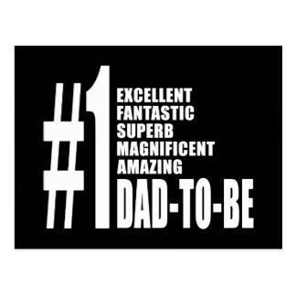 Regalos frescos para los papás futuros: Papá del Postal