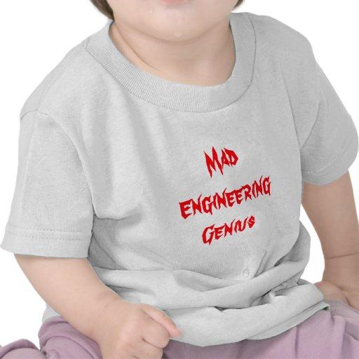 Regalos Geeky del empollón del friki del genio eno Camiseta