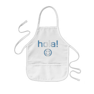 Regalos guatemaltecos: Hola/Hola + Cara sonriente Delantal
