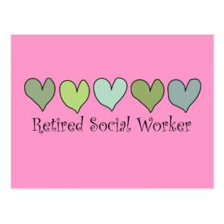 Regalos jubilados del asistente social postal