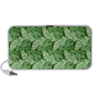 Regalos muy verdes Ir-Verdes del arte Altavoces De Viajar