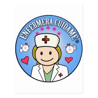 Regalos para Enfermera Cuidame Rubia Celeste