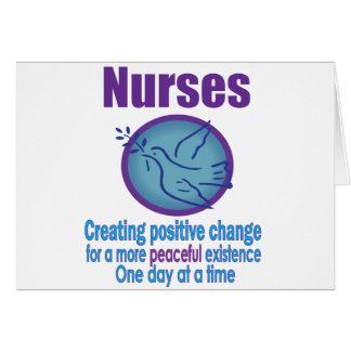 Regalos para las enfermeras tarjetas