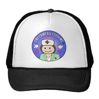 Regalos personalizados para enfermeras Cuidame Gorros Bordados