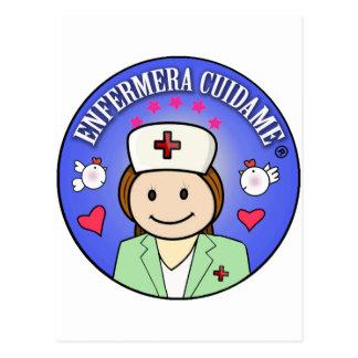 Regalos personalizados para enfermeras: Cuidame Postal