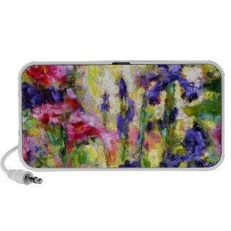 Regalos púrpuras del jardín de la primavera del ir