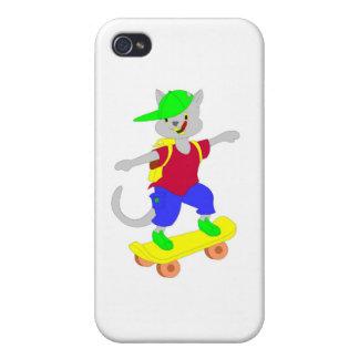 Regalos que andan en monopatín frescos para los ni iPhone 4/4S fundas