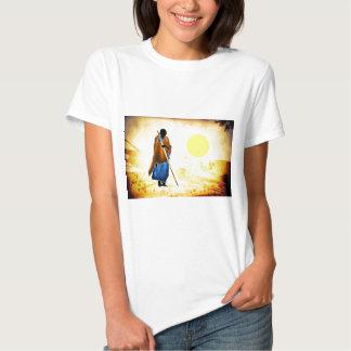 Regalos retros 02 del estilo del vintage de África Camiseta