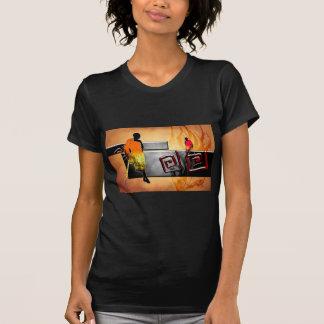 Regalos retros del estilo del vintage de África Camisas