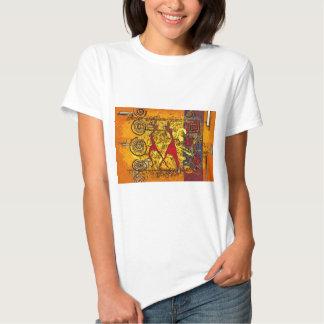 Regalos retros del estilo del vintage de África Camiseta
