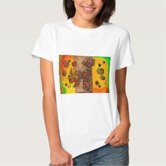 Regalos retros del estilo del vintage de África Camisetas