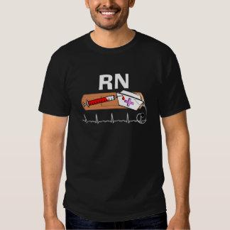 """Regalos """"RN """" registradoa de la enfermera Camisas"""