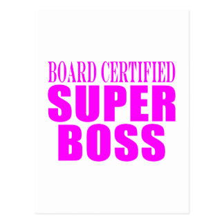 Regalos rosados frescos para los jefes: Boss estup Postal