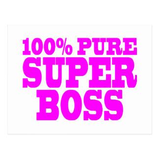 Regalos rosados frescos para los jefes: El 100% Bo Postales