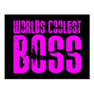 Regalos rosados frescos para los jefes Mundos Bos