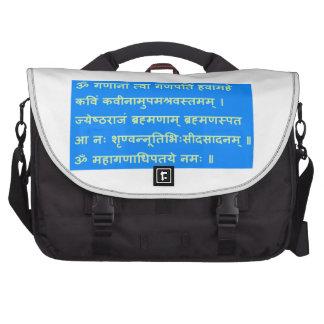 REGALOS sánscritos de Ganapati Ganesh Ganesha del Bolsas De Portátil